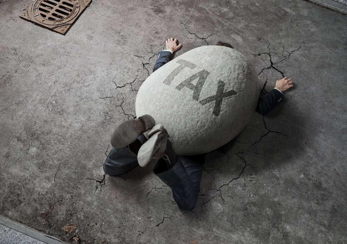 Stone Weight Tax Crushes Man