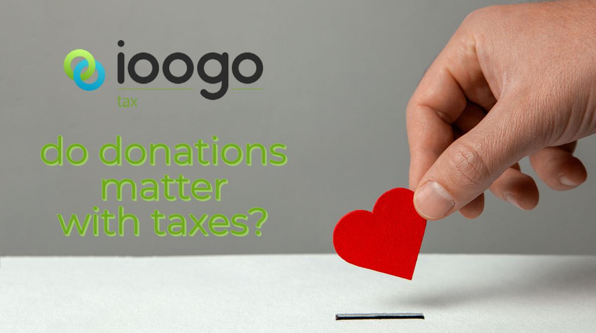 ioogo tax donations